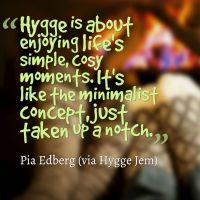 Hygge Book: The Cosy Life by Pia Edberg