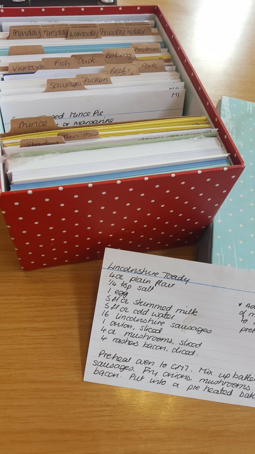 Hygge Recipe Box