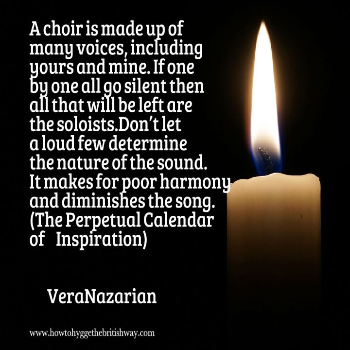 A Choir is made up of many voices quote 1