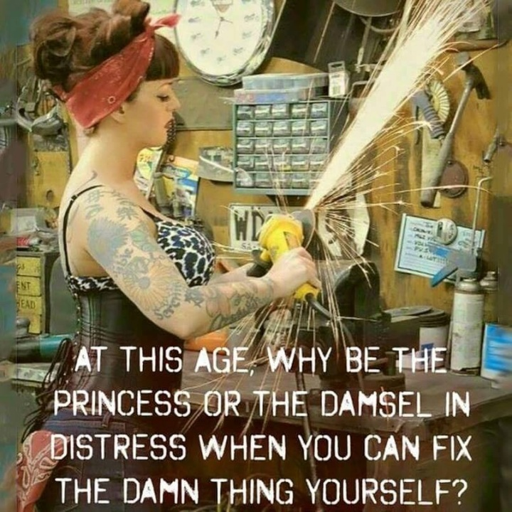 Why be the Damsel in Distress