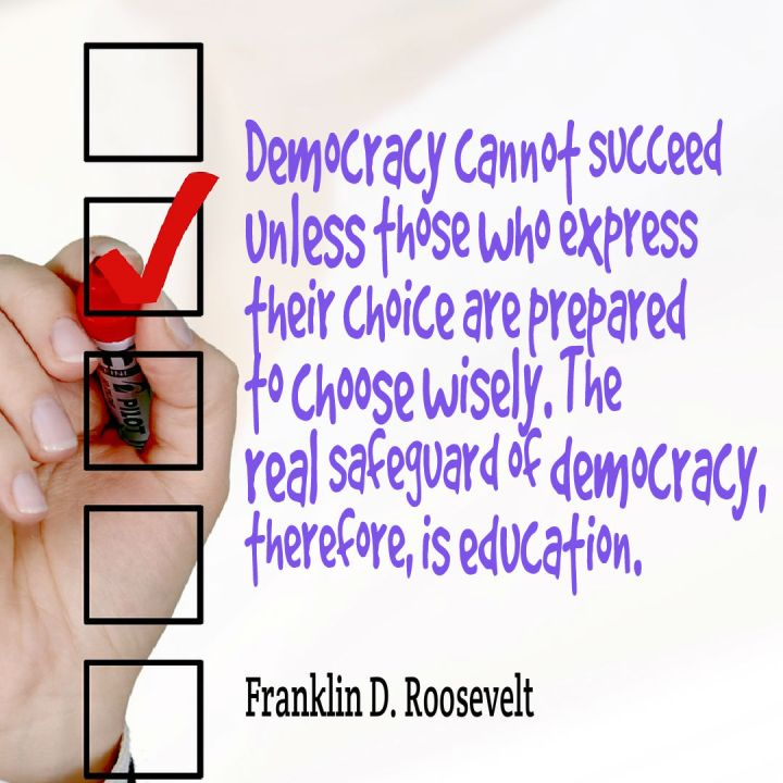 Democracy education