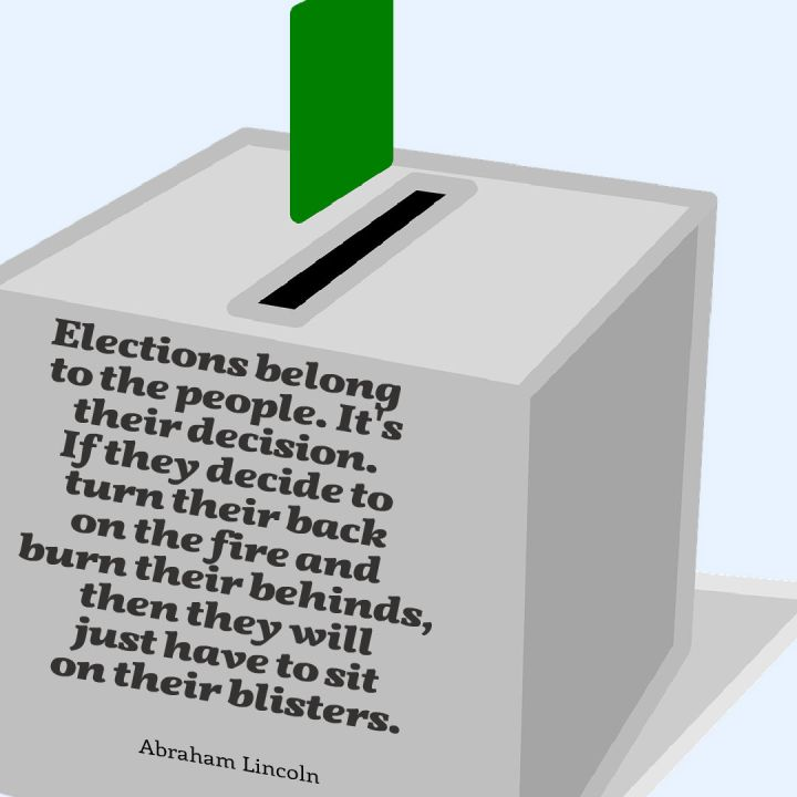 Elections belong to the people