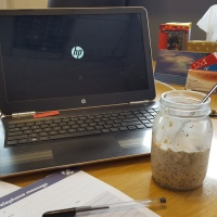 Recipe Tuesday: Overnight Oats for the impatient.