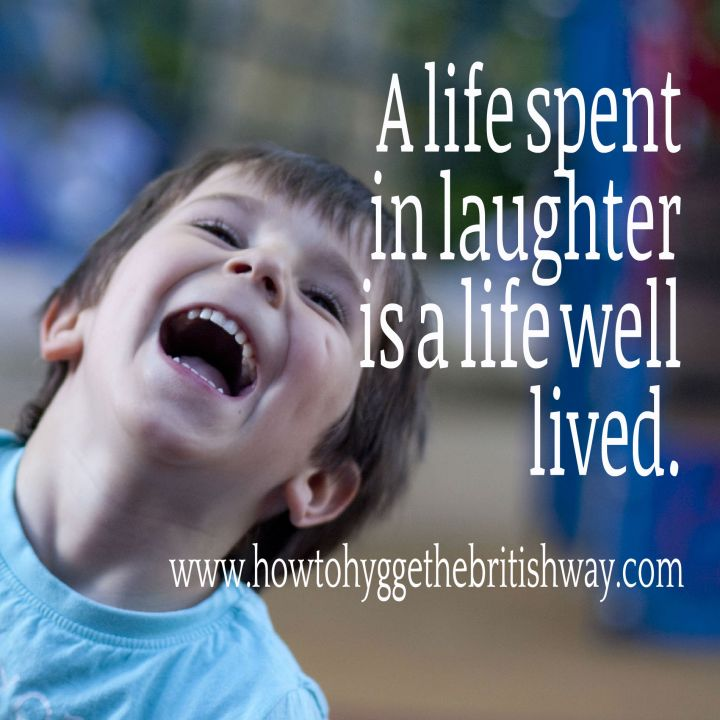 A life spent in laughter 1