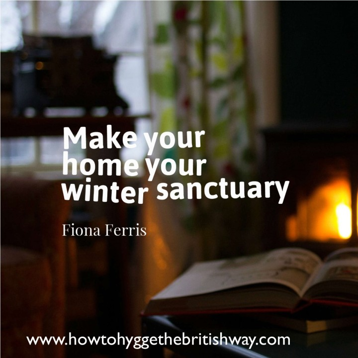 Make your home your Winter Sanctuary