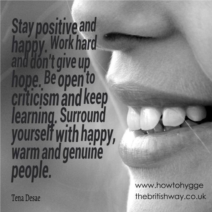 Stay Positive and Happy 2