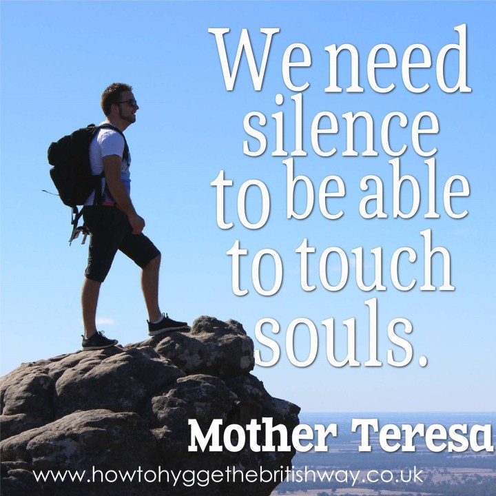 We need silence to be able to touch souls