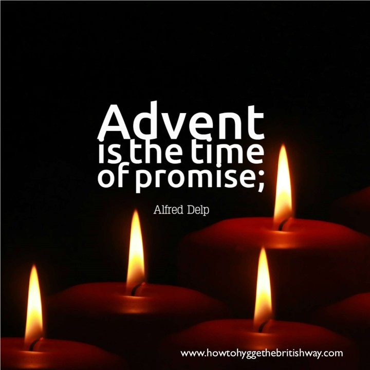 Advent is the time of promise