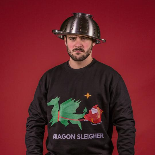 dragon-sleigher jumper