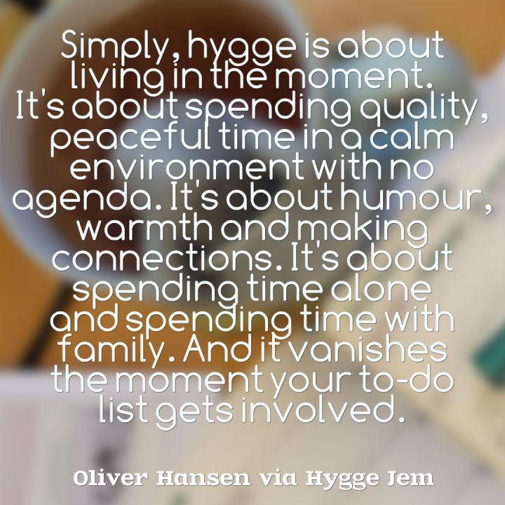 Hansen Hygge quote 1
