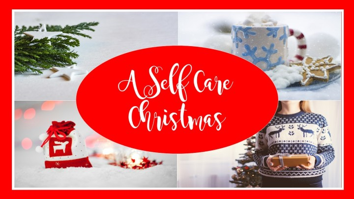 A Self Care Christmas Header