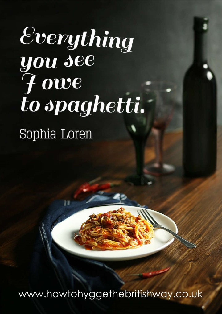 Everything you see I owe to spaghetti