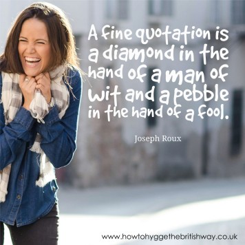 A Fine Quotation is a diamond