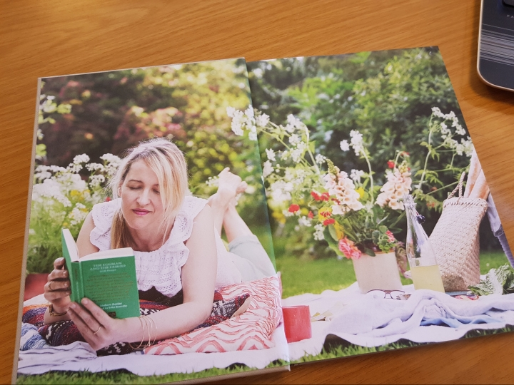 A Sense of Home Helen James Summer Reading in the garden