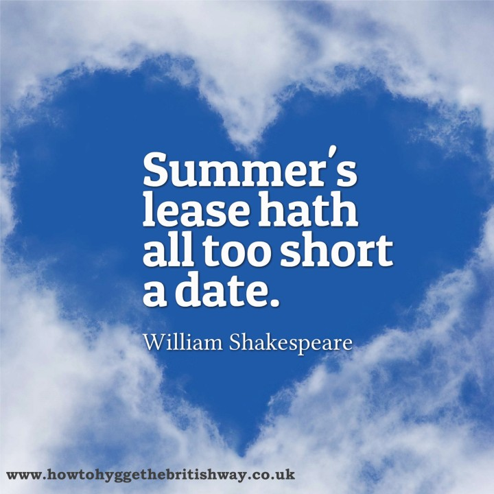 Summer's Lease hath all too short a date