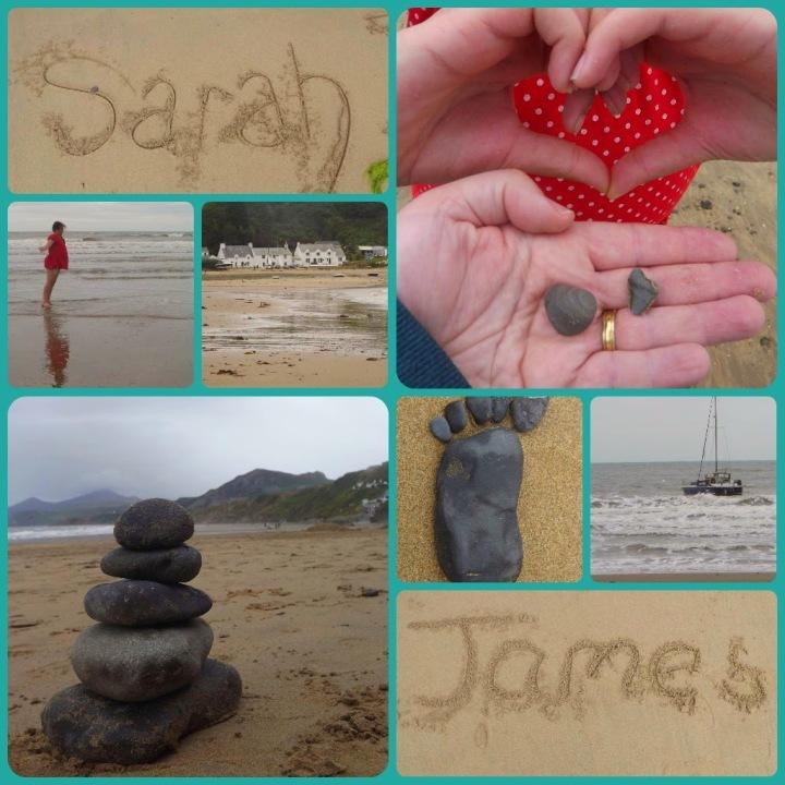 Nefyn Beach Collage 1