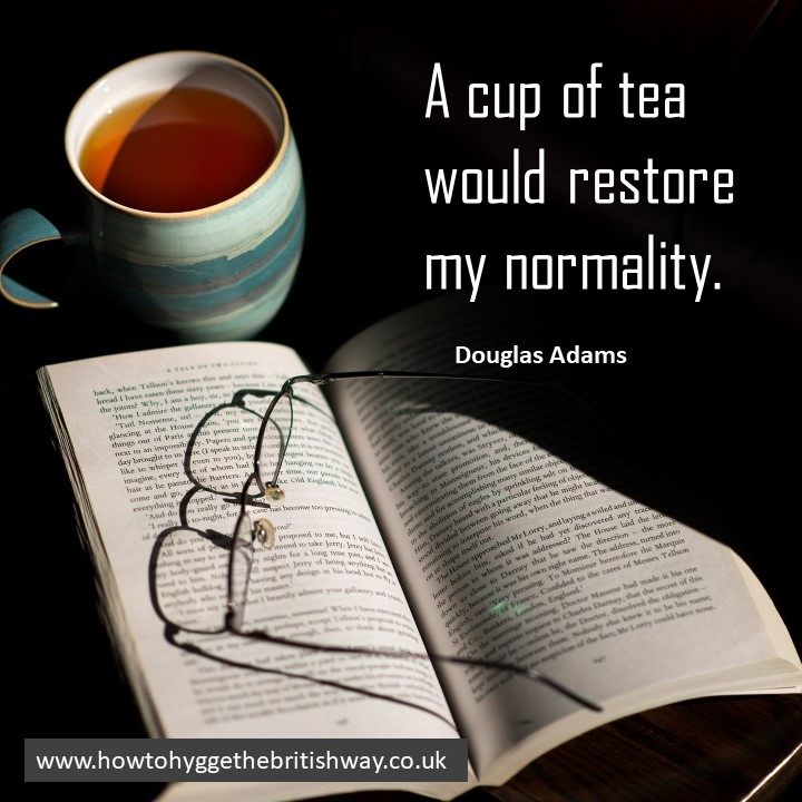 A Cup of Tea Would Restore My