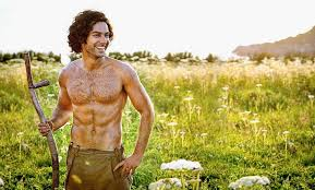Aiden Turner no shirt