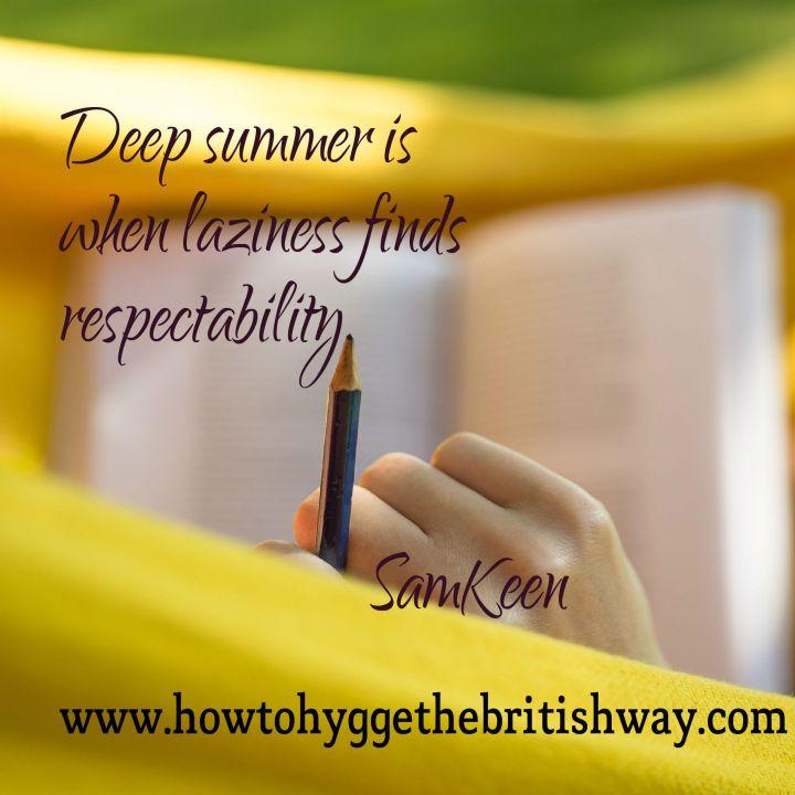 Deep Summer respectability