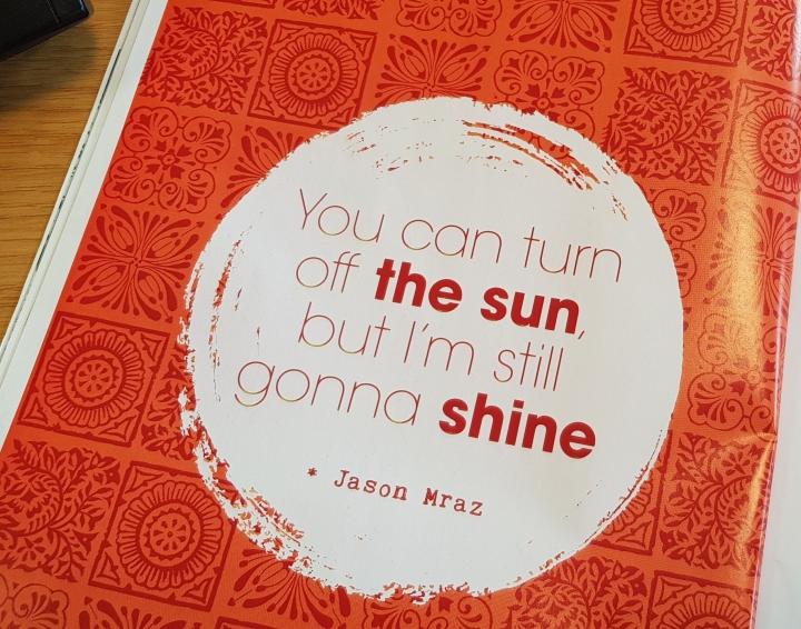 happinez still gonna shine quote