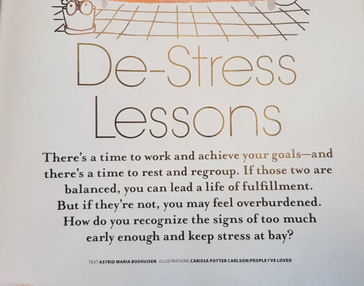 happinez de stress lessons