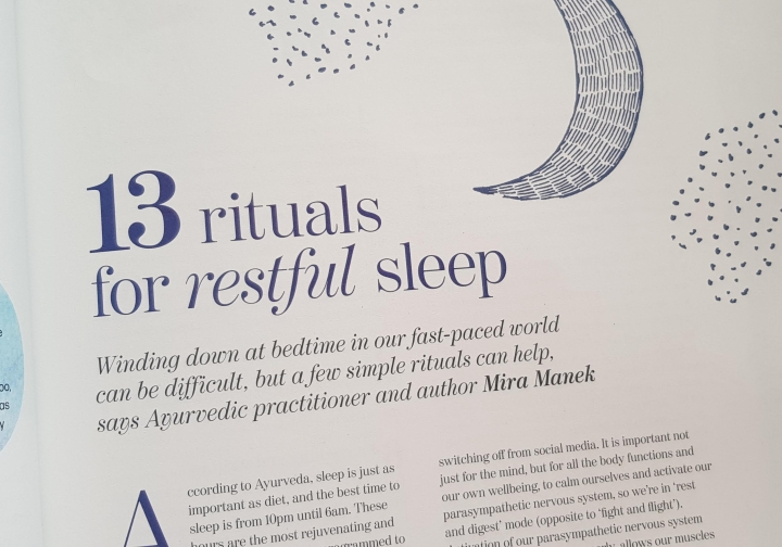 In the Moment 13 Sleep rituals