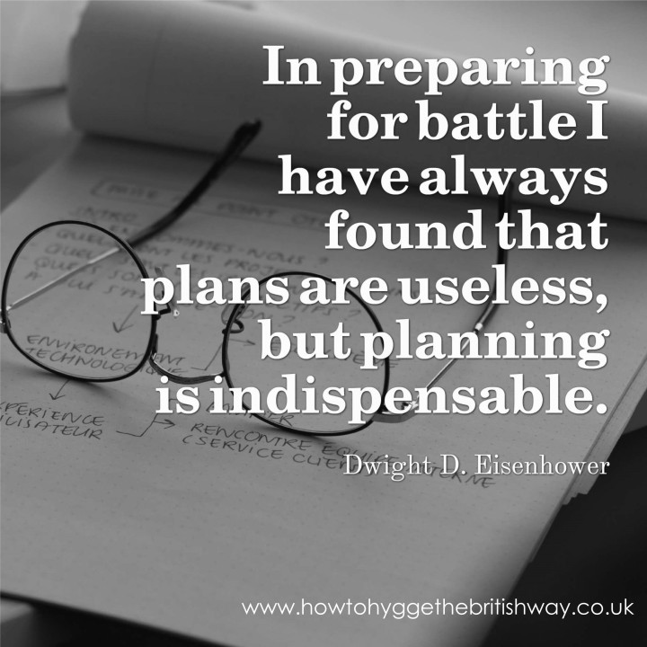 Plans are useless but planning is indispensable