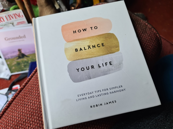 How to Balance Your Life by Robin James