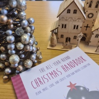 Book Friday: The All-Year-Round Christmas Handbook by Tiffany Wood