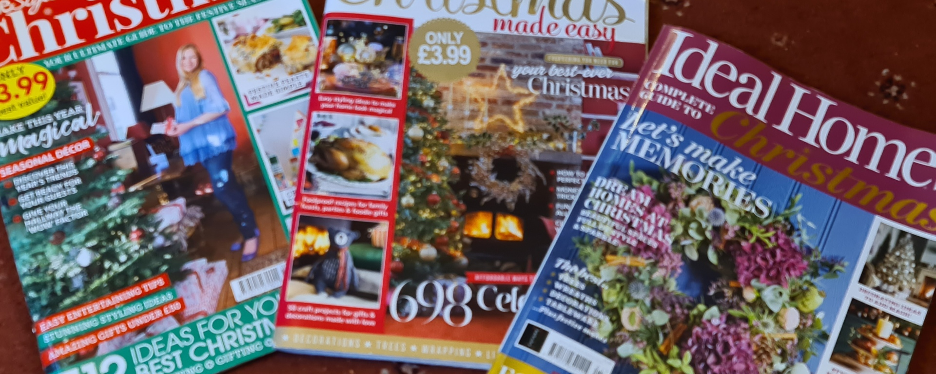 A Trio of Christmas Magazines